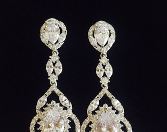Bridal earrings | Etsy