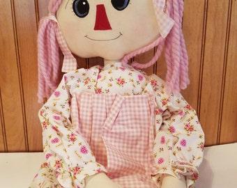 Raggedy Ann in Pink