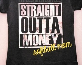 T-shirt // Apparel // Straight Outta Money