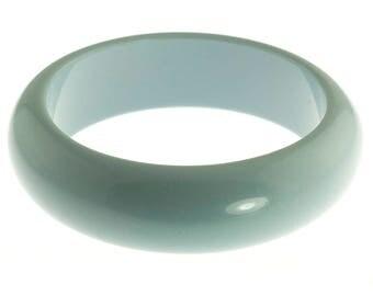Blue Plastic Bangle