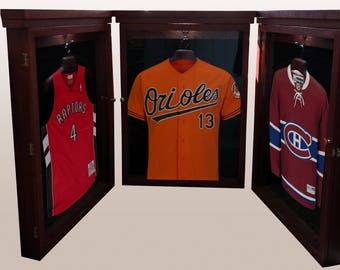 Jersey display cabinet