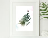 Palm Leaf Botanical Fashi...