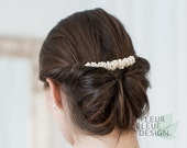 wedding hair comb | bridal hair comb with pearls | pearl hair comb | hair comb for wedding | hair wedding headpiece