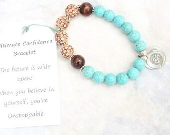 Spiritual Bracelet, Wrist Mala Bracelet, Buddhist Mala Beads, Yoga Jewelry – Healing, Protection, Stress Relief, Inner Peace, Reiki