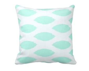 mint pillow covers mint green and white throw pillows decorative pillows mint euro - White Decorative Pillows