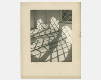 richard yanul 'the lace of lite' photograph, fine art photograph, midcentury photography, master photography, black and white photograph