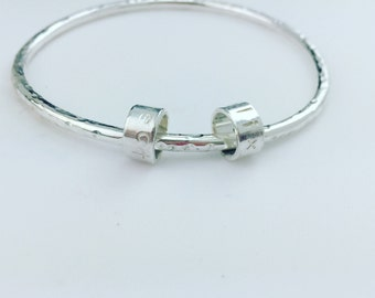 The Simple Sentiment bangle