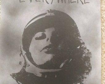She Is Everywhere - 11x17 art print