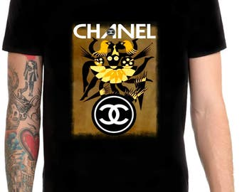 Chanel inspired art t shirt # 1 size M/L