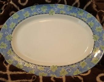 Pfaltzgraf Blue Ivy Chop Plate Platter