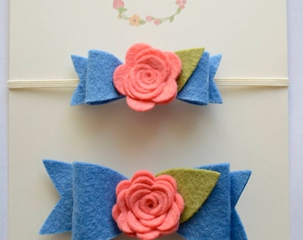 Mommy and Me headband, mommy and me set, matching headbands, mommy headband, newborn headband,