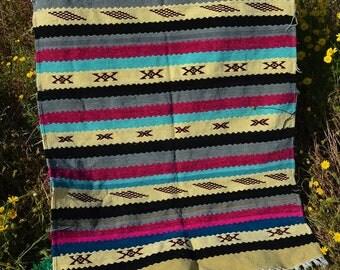 Handmade Moroccan rug, 4.72 ft * 3.05 ft Moroccan Style Floor Rug
