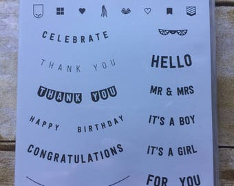 Any Occasion photopolymer stamp set from Stampin' Up!