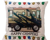 Happy Campers - RV Pillow Cover