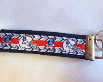 Patriots Key Chain Wristlet
