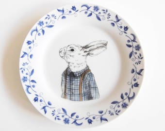 rabbit wallplate
