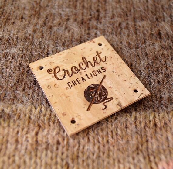 Cork Labels Custom Clothing Labels Vegan Leather Labels