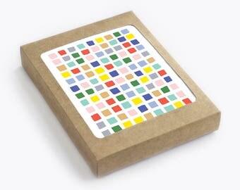 Blocks - Blank Card Set - Pack of 8