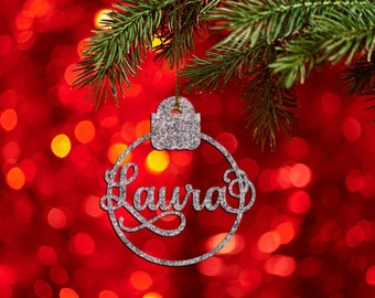 Personalized Christmas Ornaments - First Christmas Ornament - Baby Name Ornament - Christmas Tree Ornaments
