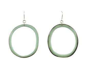 Earrings Eco Friendly Malbek Dangle Tagua Earrings Sustainable Colombia