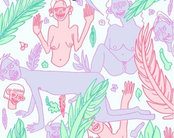 "Illustration ""Sexual Jungle"""