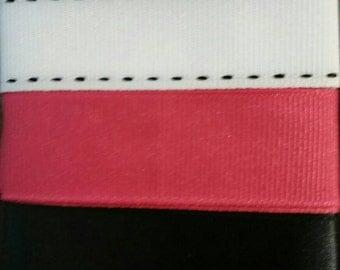 Pink Panda Ribbon Mix