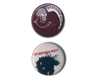 The Birthday Party Nick Cave Buttons Pin Badges Punk