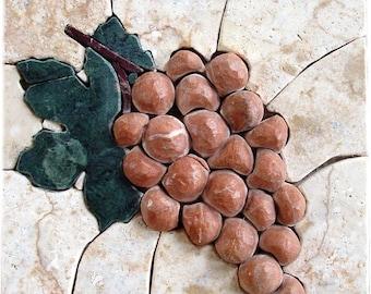 Mosaic Patterns- Cremisi Acino
