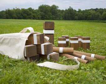 Premium Kubb Set : Outdoor Lawn Game
