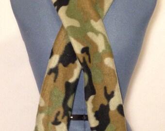 Camouflage- Fleece Scarf