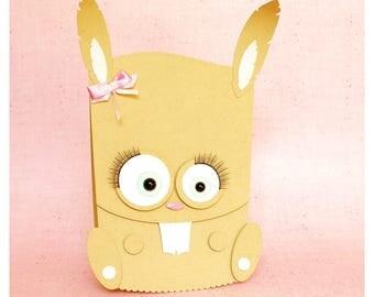 "plotterdatei - slider gift card ""bunny"""
