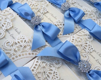 Laser Cut Wedding or Event Invitations