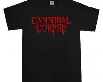 Cannibal Corpse T-shirt New Black t shirt S M L XL XXL Death Metal Band shirt Morbid Angel Suffocation