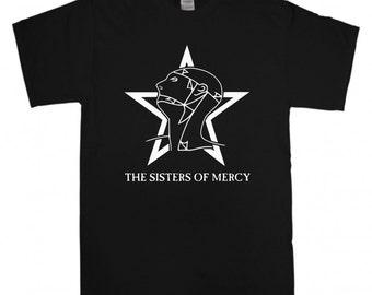 The Sisters Of Mercy T-shirt New Black t shirt Post Punk S M L XL XXL Doom Gothic Metal concert Rock shirt