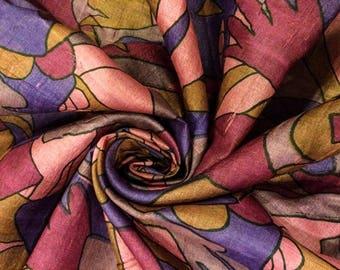 Pure Silk Sari, vintage sari, Indian dress, saree traditional fabric, home decor, clothes, craft, sewing, PSS2071