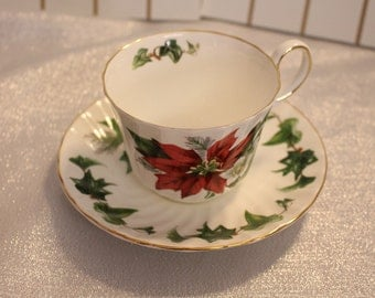China tea cup and saucer - Allyn Nelson Collection Fine Bone CHina  Made in England