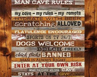 Man Cave Sports Wall Decor : Amazing man cave wall decor design inspiration of