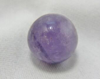 Amethyst Sphere, Amethyst Ball, Amethyst Orb, Amethyst Quartz Crystal, Natural Amethyst Gemstone, February Birthstone, 16 mm Sphere  #120