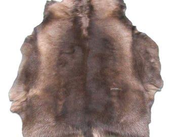 Reindeer Skin from Scandinavia Size: 4.7' X 3' ft Genuine Reindeer Skin j-212