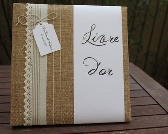 Guestbook range country chic wedding 2