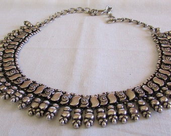 """Sterling Silver 16 3/4"""" Necklace."""