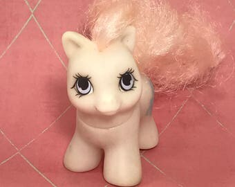 FREE SHIPPING Vintage My Little Pony G1 80s MLP Teeny Tiny Little Whiskers Baby