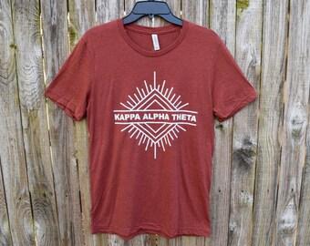 Kappa Alpha Theta Burst Shirt