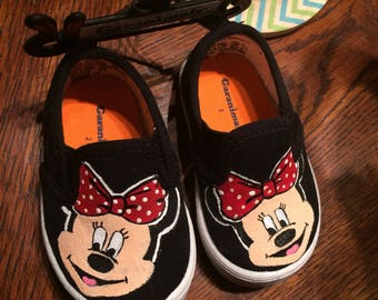 Minnie Mouse Toddler/Kids Shoes