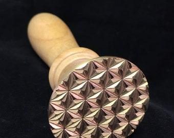 Tri-Star Brass Glass Blowing Tool