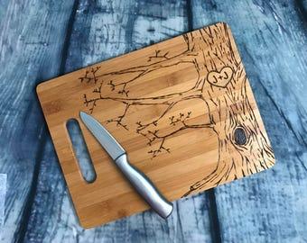 Easter gift grandma etsy easter gift wood burned cutting board custom cutting board rustic love negle Gallery