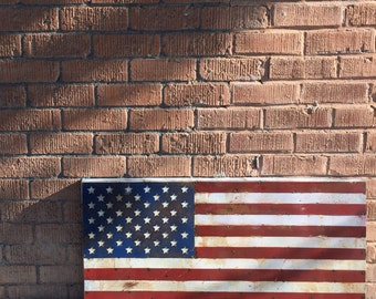 "SALE 36"" wide AMERICAN flag"