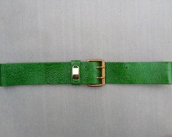 Women's Leather Patent Belt