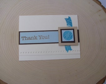 Thank You Card 4 Pack