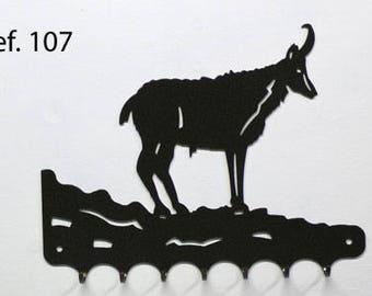 Hangs key pattern metal: chamois